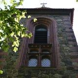 Landelijke kerktoren Stock Foto