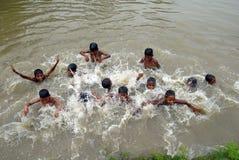 Landelijke Kinderen in India Royalty-vrije Stock Afbeeldingen