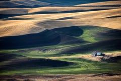 Landelijke landschapsboerderij Royalty-vrije Stock Afbeelding