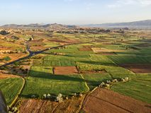 Landelijke landschapscappadocia stock afbeeldingen