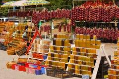 Landelijke markt royalty-vrije stock foto's