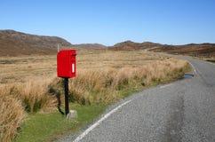 Landelijke Post Stock Afbeelding