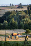 Landelijke scène in Frankrijk Royalty-vrije Stock Fotografie