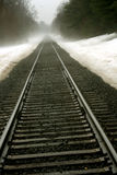 Landelijke Spoorweg Royalty-vrije Stock Fotografie
