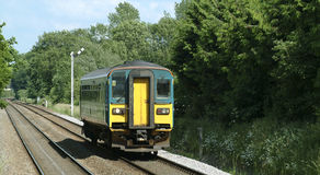 Landelijke trein Royalty-vrije Stock Foto's