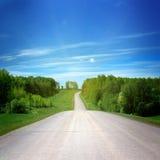 Landelijke weg Royalty-vrije Stock Foto