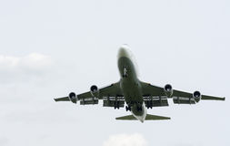 Landend Boeing 747-400 Royalty-vrije Stock Fotografie