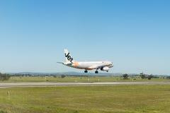 Landend Vliegtuig Royalty-vrije Stock Foto