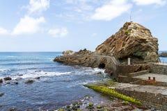Landende rotsen Stock Fotografie