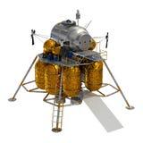 Lander lunare. Immagine Stock