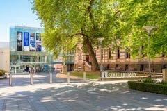 Landesbibliothek von Süd-Australien Lizenzfreies Stockfoto