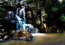 landescape of waterfall Royalty Free Stock Images