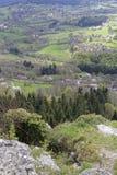Landet Kap von Rocher Heilig-Vincent lizenzfreie stockfotografie