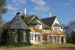 Landet utformar huset Arkivbilder