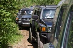 Landexpedition Hummer-Verein Lizenzfreie Stockbilder