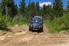 Landexpedition Hummer-Verein Lizenzfreie Stockfotografie