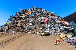 Landfill Royalty Free Stock Images