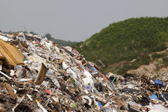 Landfill site Royalty Free Stock Image