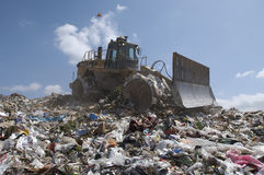 Landfill Site Stock Image