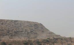 Landfill site. In North Delhi, India Stock Images