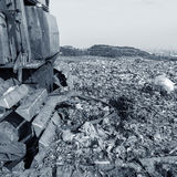 Landfill Royalty Free Stock Photography