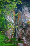 Landform Danxia σε Chishui Στοκ φωτογραφία με δικαίωμα ελεύθερης χρήσης