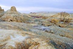 landform danxia της Κίνας xinjiang Στοκ φωτογραφία με δικαίωμα ελεύθερης χρήσης