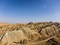 Landform Danxia в Китае Стоковое Изображение