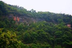 Landform Danxia в Chishui Стоковые Изображения