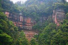 Landform Danxia в Chishui Стоковая Фотография RF