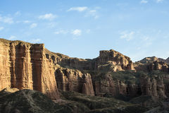 Landform Danxia в Zhangye Стоковые Изображения RF