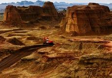 Landform de Danxia Fotos de Stock Royalty Free