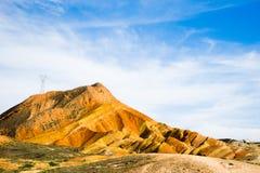 Landform de Danxia Fotografia de Stock Royalty Free