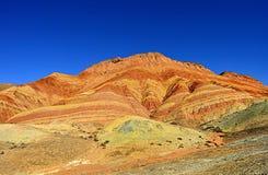 Landform de Danxia Fotografia de Stock