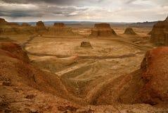 Landform di Danxia Fotografie Stock