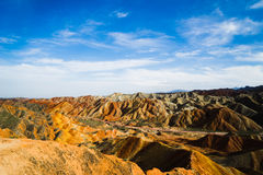 Landform di Danxia Immagine Stock
