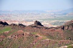 Landform di Danxia Fotografia Stock