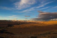 Landform di morfologia carsica nel Tibet Fotografia Stock Libera da Diritti