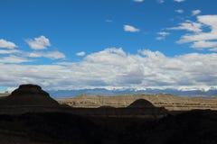 Landform do cársico em Tibet Foto de Stock