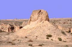 Landform van Yardang Royalty-vrije Stock Fotografie