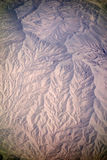 Landform in Xinjiang Royalty Free Stock Images