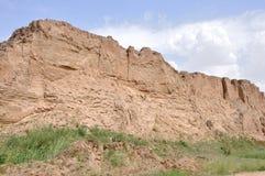 Landform Yardang стоковая фотография