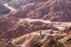 Landform Zhangyes Danxia Lizenzfreie Stockbilder