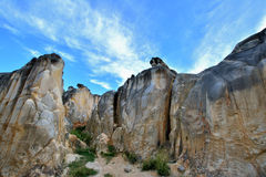 Landforms of decayed granite, Fujian, China Stock Photo