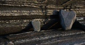 Landforms e corrosione Immagini Stock