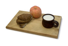 Landfrühstück Stockfotografie