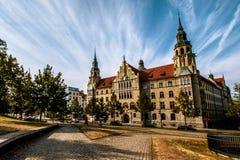 Landgericht Halle Photo libre de droits