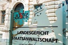Landgericht- und Verfolgerbüro Lizenzfreie Stockbilder