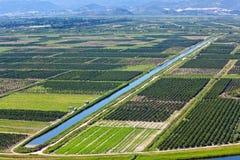 Landgewinnung Lizenzfreies Stockbild