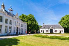 Landgoed Beeckestijn in Velsen, Nederland Stock Afbeeldingen